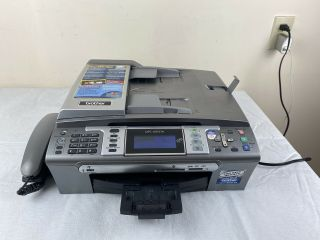 Brother Mfc - 685cw All - In - One Printer Scanner Fax Rare Builtin Phone