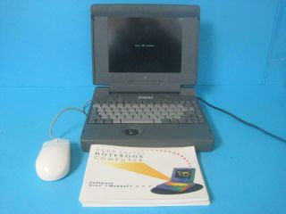 Awesome Vintage Sage Notebook Computer 243/1991 Rare Powers On For Parts/repair