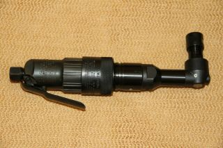Vintage Dotco Cleco Extended Angle Die Grinder 111 Series 1/4 Collet Rare