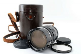 Rare [excellent,  ] Canon 100mm F/2 L39 Leica Screw Mount From Japan
