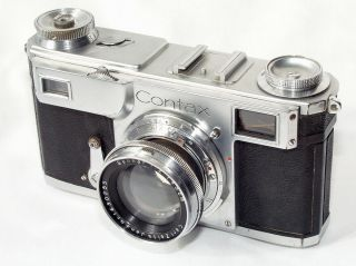 """Contax Ii With Sonnar 5cm/2 - Rare,  Early """" Z """" - Version"""