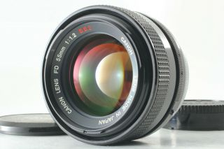 """[rare """" O """" Near Mint] Canon Fd 55mm F1.  2 S.  S.  C Ssc Mf Lens Fd Mount From Japan"""