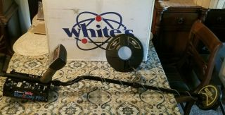 Whites Metal Detector Blue And Grey Pro Rare