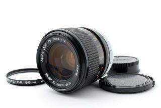 """【 Fedex】 Rare """" O """" Canon Fd 35mm F/2 S.  S.  C.  Wide Angle Lens Ssc From Japan"""