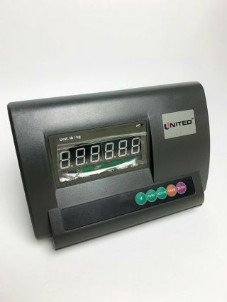 United Scale Weighing Indicator Xk3190 - A12/a12e - Rare Item