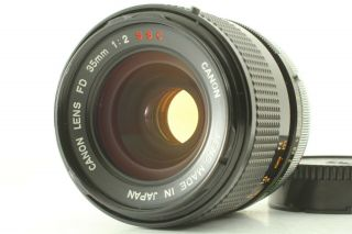 【n /rare O Lens】canon Fd 35mm F/2 S.  S.  C.  Mf Wide Angle Lens From Japan 149