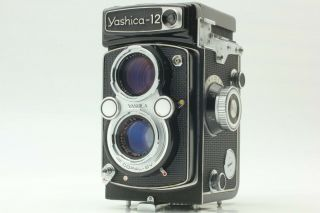 [rare Near Mint] Yashica 12 Tlr Camera For 120 Film 80mm 3.  5 From Japan 167