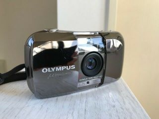 Rare 【mint】 Olympus μ Mju Limited Edition 35mm F3.  5 Point & Shoot From Japan