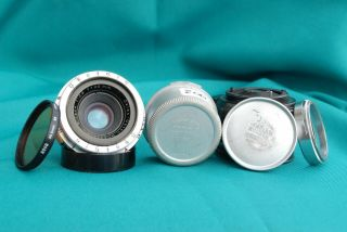 Rare - - Vintage Zeiss Opton 35mm/f1:2.  8 Biogon Lens For Contax S Camera