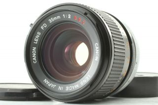[exc,  5 Rare O] Canon Fd 35mm F/2 S.  S.  C.  Ssc Mf Wide Angle Lens From Japan 437