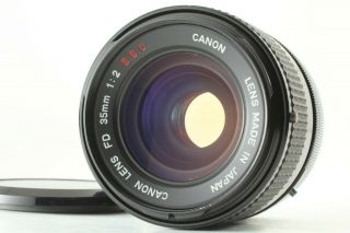[rare O Near Mint] Canon Fd 35mm F2 S.  S.  C.  Wide Angle Lens Ssc From Japan 043