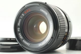 [n Rare O Lens] Canon Fd 35mm F/2 S.  S.  C.  Ssc Wide Angle Mf Lens From Japan