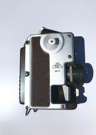 C P Goerz Minicord 16mm Subminiature Camera In Rare Brown Way Cool