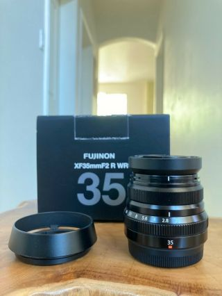 Fujifilm Xf 35mm F/2 R Wr Lens (made In Japan) (rare) - Black