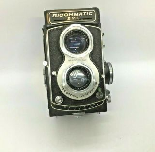 Ricoh Rare Ricohmatic 225 Vintage Twin Lens Reflex Medium Format Film Camera