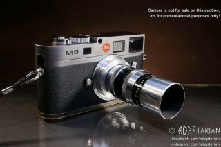 Rare Chrome/brass Meyer - Görlitz Trioplan 75/2.  8 Converted To Leica M | Samples
