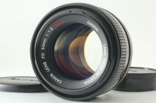 "[rare "" O "" Exc,  5] Canon Fd 55mm F1.  2 S.  S.  C Ssc Mf Standard Lens From Japan"