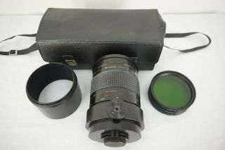 Rare Russian Mc Rubinar Makpo 10/1000 1:4 Macro Telephoto Lens For M42 Cameras