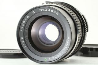 [rare Mint] Mamiya Sekor C 55mm F/2.  8 S For Mamiya 645 1000s From Japan