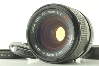 [ Exc,  5 Rare O Lens ] Canon Fd 35mm F/2 S.  S.  C.  Mf Wide Angle From Japan 35