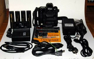 Rare Kodak Professional Dcs 620 /nikon F5 Body,  Batteries,  Charger,  Manuals