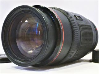 Rare Fluorite Lens Ups✈ [mint] Canon Ef 50 - 200mm F3.  5 - 4.  5 L Zoom Af From Japan