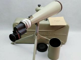 Rare Soviet Spyglas Spotting Scope Telescope Zrt - 457 Ussr