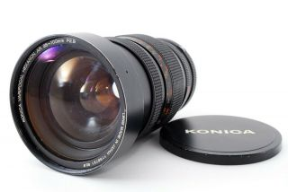 【rare As - Is】 Konica Hexanon Ar Varifocal 35 - 100mm F/ 2.  8 Mf Zoom Lens 621944