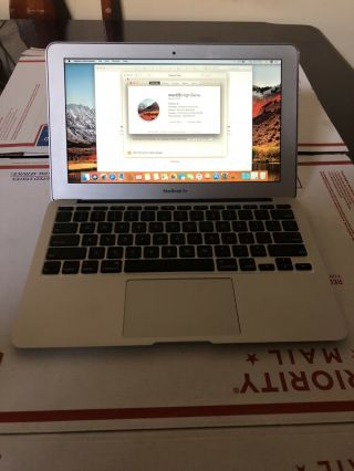 "Macbook Air 11 "" 2010 Intel Core 2 Duo 1.  6ghz 4gb 64gb.  Rare."