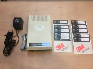 Rare Coleco Adam Disk Drive Fully / / With Software (see Photos)