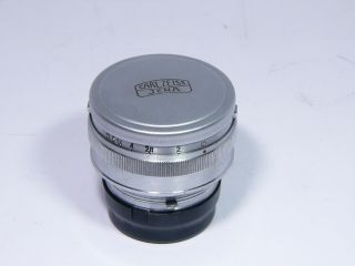 Sonnar 1.  5/50mm 2187960 Rare Lens For Contax Mount
