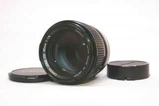 【rare,  】 Canon Fd S.  S.  C 85mm F1.  8 From Japan