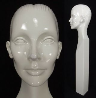 Rare Vintage Mannequin Head Woman Abstract 1960