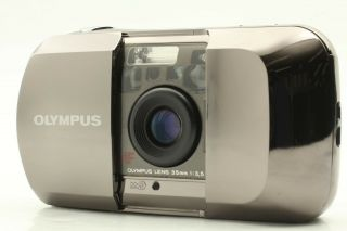 【rare N.  Mint】 Olympus μ [mju] Limited 35mm F/3.  5 Point & Shoot Camera From Japan