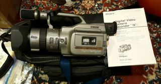 Sony Digital Handycam Dcr - Vx1000 Gray / Digital Handycam / Rare/