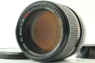 [exc,  4 Rare O] Canon Fd 85mm F/1.  8 Ssc S.  S.  C Mf Lens Fd Mount Slr From Japan 139