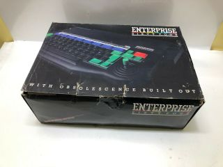 Enterprise 64 Home Computer System - Rare Pal Vintage  Boxed - 26