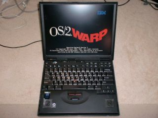 Ibm Thinkpad 600 Laptop With Os/2 Warp 3 And Dos Dual Boot,  Very Rare