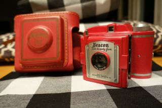 Rare Red Beacon 225 Camera In Red Case Whitehouse Products