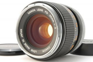 【exc,  5 Rare O】 Canon Fd 35mm F2 Mf Wide Angle Lens Fd Mount From Japam 151