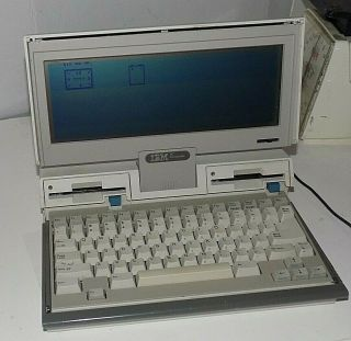 Rare - Ibm 5140 Pc Convertable Intel 80c88 @4.  77mhz 512 Ok Dual Floppy Drives