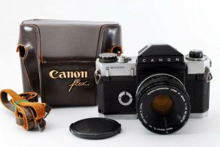 Rare [excellent,  ] Canon Canonflex R2000 Film Camera W/r 50mm F/1.  8 From Japan