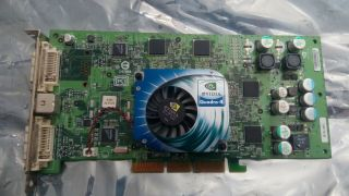 Very Rare Nvidia Quadro4 980 Xgl Agp And