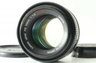 """【rare """" O """" Exc,  5】 Canon Fd 55mm F/1.  2 S.  S.  C Ssc Standard Lens From Japan 181"""