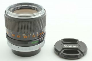 Rare [ Near ] Canon Fd 35mm F2 Wide Angle Mf Lens From Japan 79