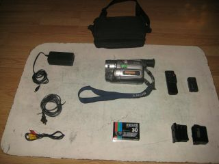 Very Rare Sony Ccd - Trv75 8mm Hi8 Ntsc X Ray Camcorder Recorde Made In Japan