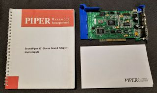 Rare Ibm 10020737 - 3a Soundpiper 16 Ps/2 Mca Sound Card
