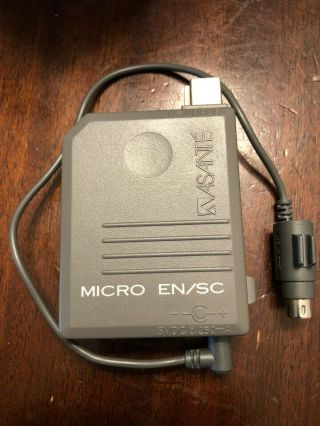 Rare Asante Macintosh Powerbook Micro En/sc Ethernet Adapter