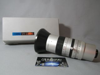 Rare Wow Canon Zoom 2/17 - 102mm C - Mount Lens For 16mm Movie Camera,  Digital