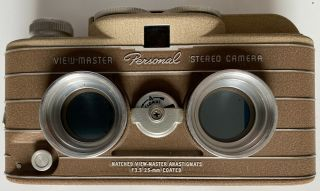 Vintage Rare Sawyers Viewmaster Personal Stereo Camera
